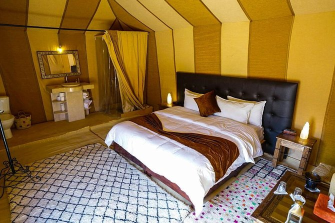 Luxury Camp in Merzouga Desert with Camel ride
