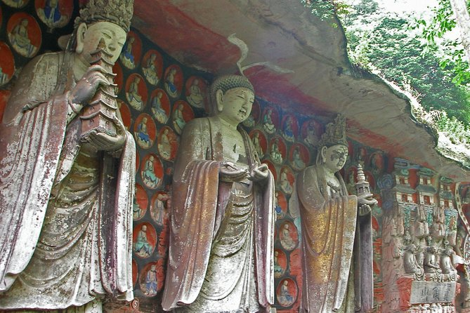 Private Day Tour to Dazu Rock Carvings from Chongqing downtown