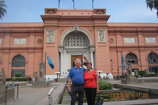 Sightseeing Day Tour to Pyramids, Egyptian Museum and Bazaar from Giza or Cairo photo 15