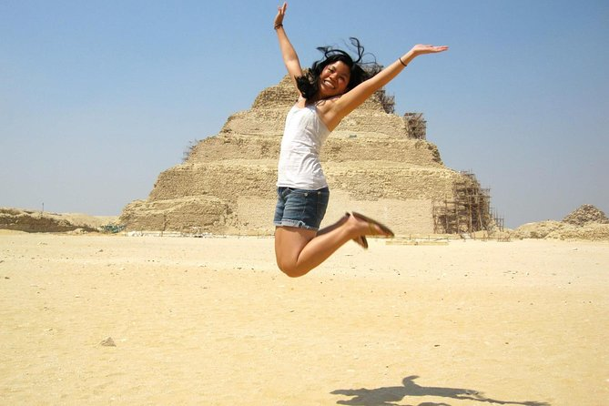 Private 8-Hour Tour: Giza Pyramids, Memphis, Saqqara, and Dahshur Pyramids photo 16