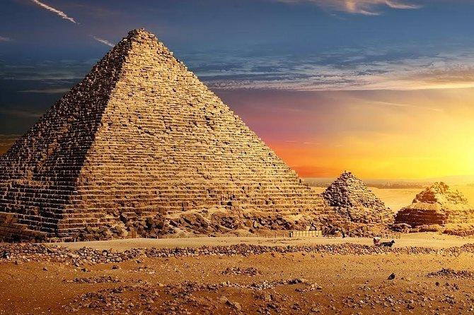 Full Day Pyramids & Sakkara With Lunch