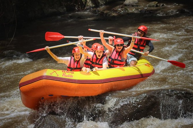 Ubud White-Water Rafting Including Private Return Transport