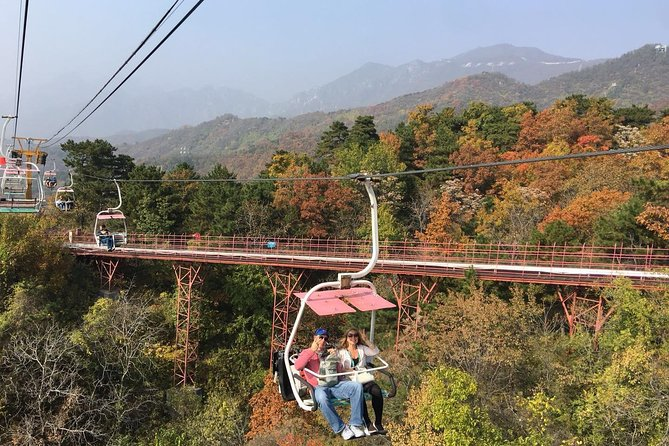 Beijing Layover Tour to Ming Tomb and Mutianyu Great Wall with Airport Transfer