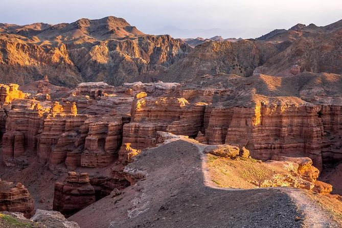 Charyn Canyon: Valley of Castles, Moon Valley & Bartogay Lake