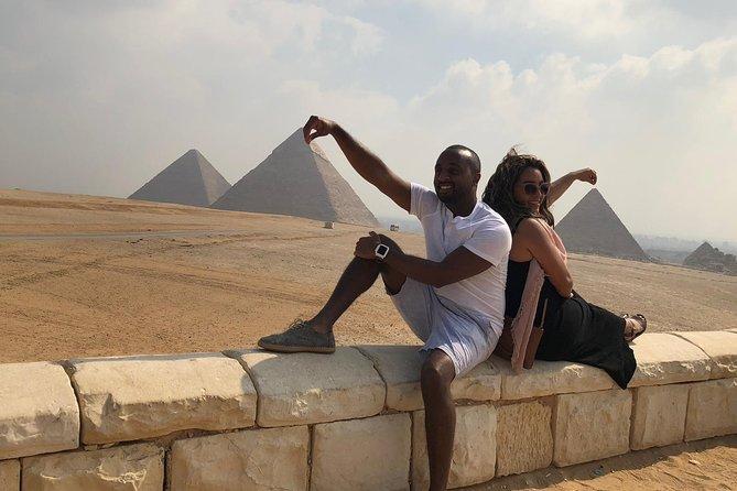 Giza pyramids, sphinx ,sakkara& memphis from Cairo Giza hotel with expert guide