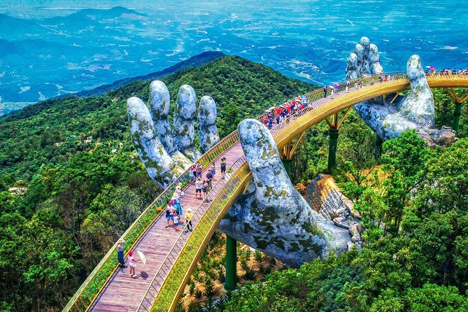 Private Golden Bridge & Ba Na Hills Full Day Trip From Danang City photo 1