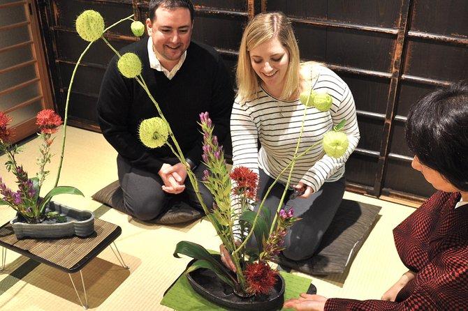 Ikebana Erfaring i Kyoto Townhouse