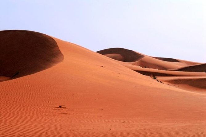 Desert Safari in a 4 x 4 with Sand Ski and Camel Ride from Dubai