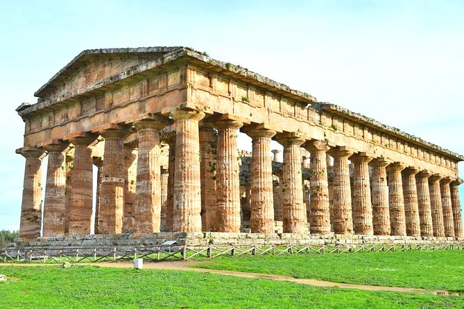 Skip-the-Line Paestum Temples & Buffalo Mozzarella Farm Tour with Driver Pickup