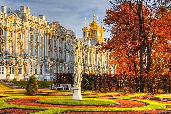 St-Petersburg Imperial Suburbs: Peterhof & Catherine Palace Tour.