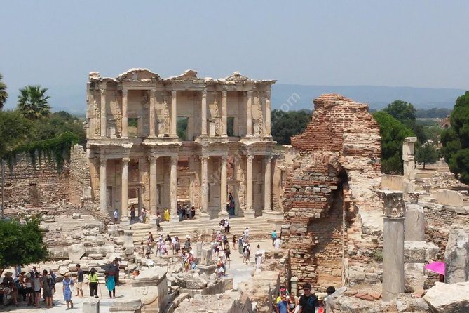Saint John Basilic and Ephesus from Izmir