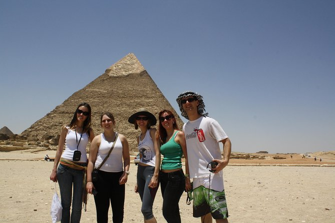 Special day tour for the pyramids,Sphinx, Valley temple & Sakkara for Brazilian