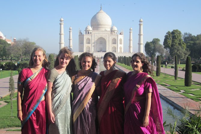 Same day Taj Mahal Tour from Delhi By Car-Chauffeur & Guide Included.