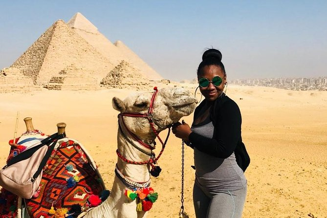 Day Tour to Giza pyramids, Sphinx including Camel Ride and The Egyptian Museum