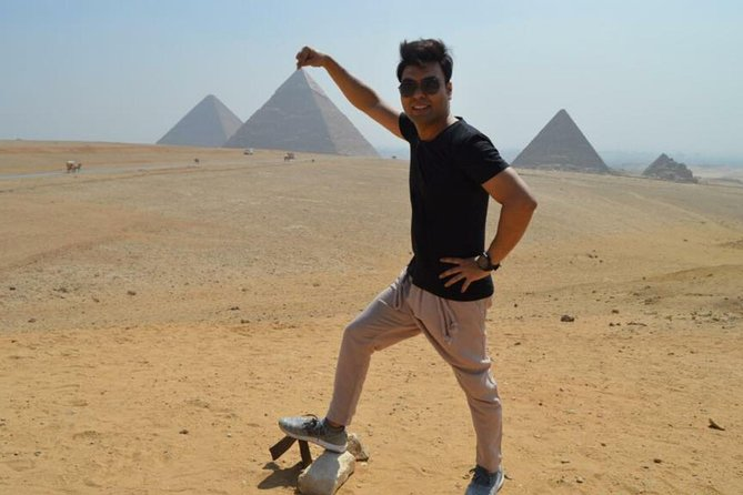 Full day tour to Giza Pyramids Memphis Sakkara and Dahsure