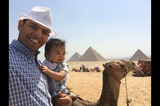 Full day trip to Giza Pyramids, Memphis, Sakkara, and Dahsure