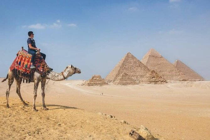 Day trip to Giza pyramids, Memphis, Sakkara, and Felucca on the Nile