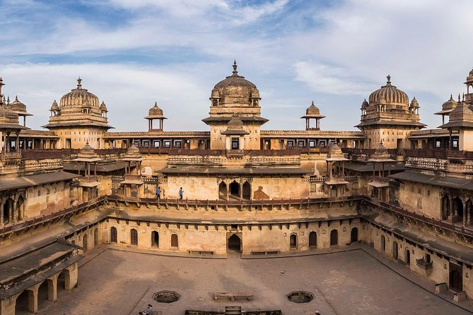 Bike Tour in Orchha cenotaphs