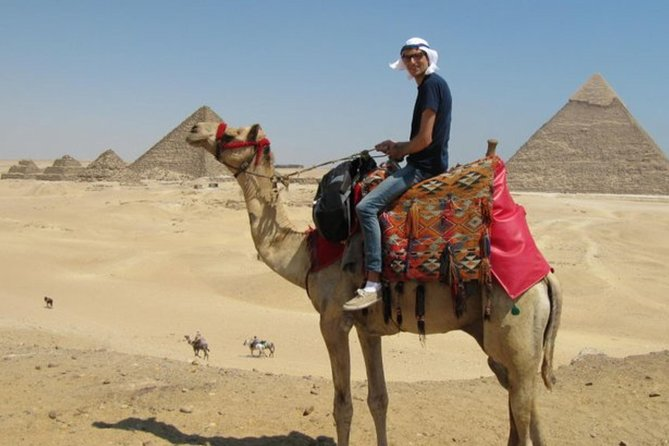 Guided tour to great pyramids Sphinx Citadel and Bazaar