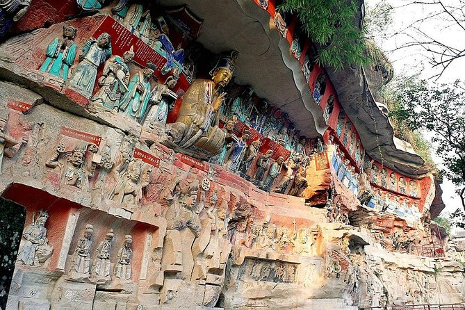 From Chongqing: Dazu Rock Carvings Private Day Tour