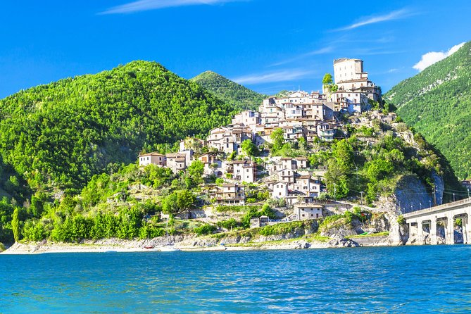 Day trip from Rome to Castel di Tora Turano Lake & Cittàducale with hotel pickup