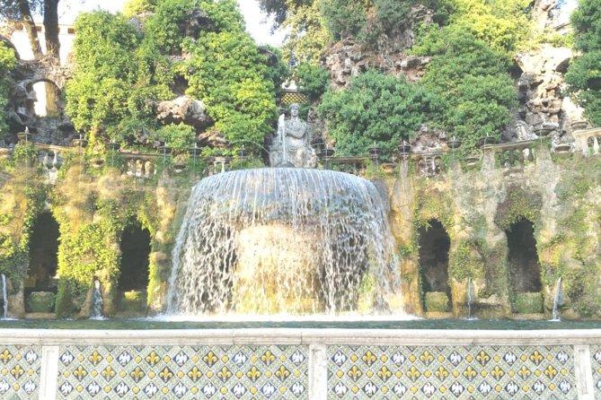 Day Trip Rome to Tivoli Villa D'Este Gregoriana, Hadrian's Villa w hotel pickup