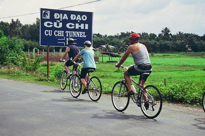 1-day biking to Cu Chi Tunnel