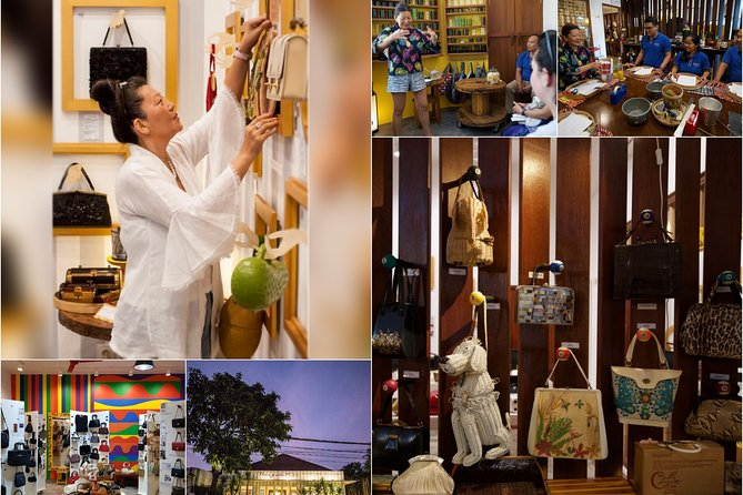 Bali Museum of Vintage Bags & Upcycle Workshop Half-Day Private Tour