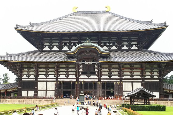 Gigantic Todai-ji Temple Early Bird Tour