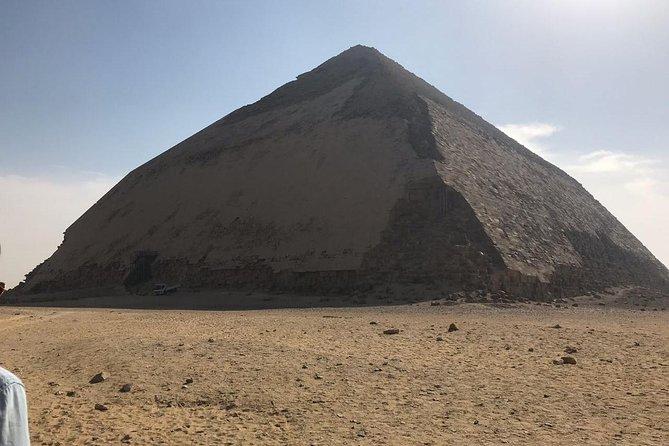 Giza pyramids, Sphinx, Memphis and Dahshur Trip