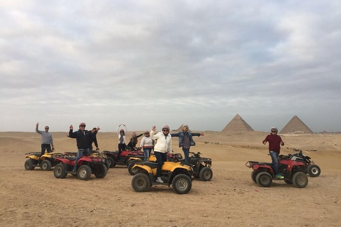 Quad Runner Trip at Giza Pyramids