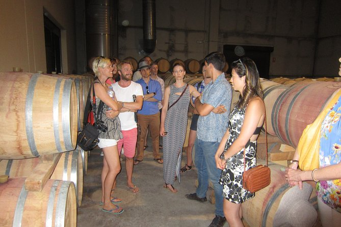 Private wine tour with 2 wine tastings and full lunch included