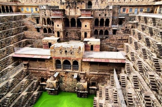 Haunted Place Bhangargh Fort And Abhaneri Step Well By Private Car Same Day Tour