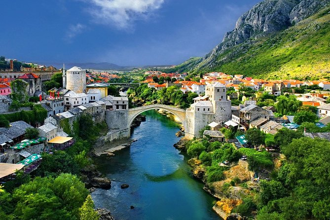 Private Tour from Zadar to Mostar and Medjugorje with transfer to Dubrovnik