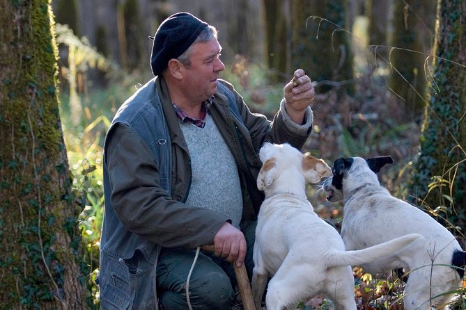 Join us for an exclusive truffle hunting experience and tasting