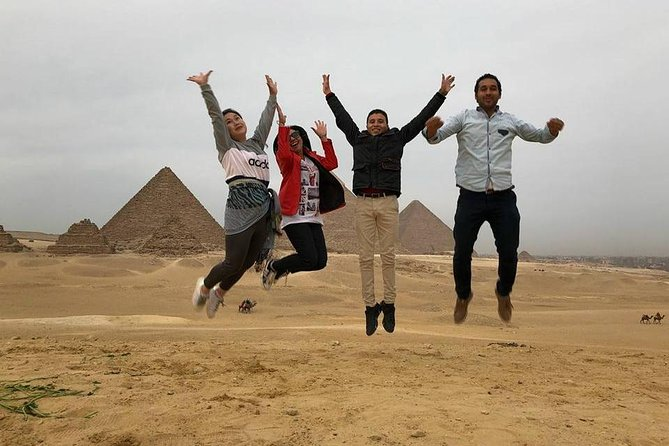 Giza Plateau, and the Magnificent Sphinx Private Guided Trip with lunch