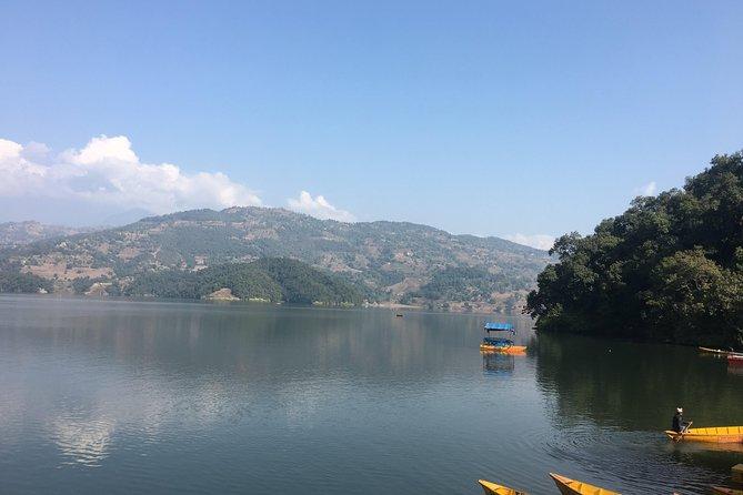 Explore Entire Pokhara (Sarangkot - Stupa - Begnas Lake - Fewa Lake -Water fall)