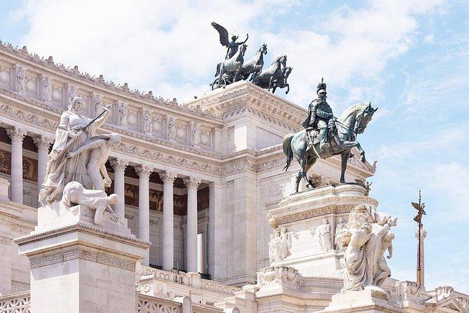 Vittoriano Piazza del Campidoglio & Santa Maria in Aracoeli Rondleiding door Rome