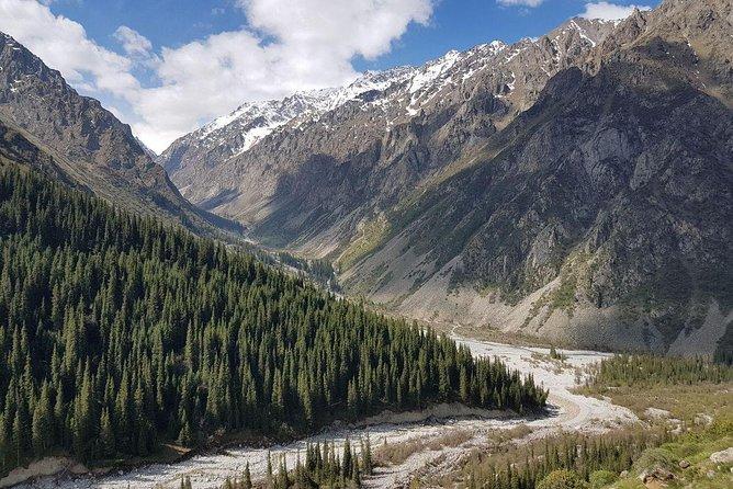 View to the Ala-Acha gorge