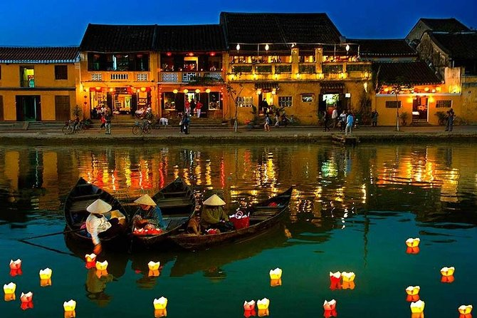 Full day private Hoian city tour from Hue city