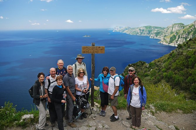 Path of the Gods Private Hiking Tour from Agerola