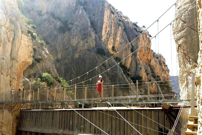 Caminito del Rey private half-day trip from Malaga or Marbella