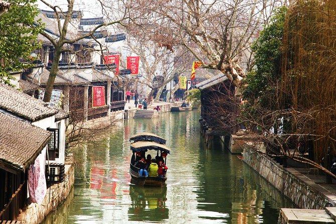 Private Shanghai Layover Tour to Zhujiajiao Water Village