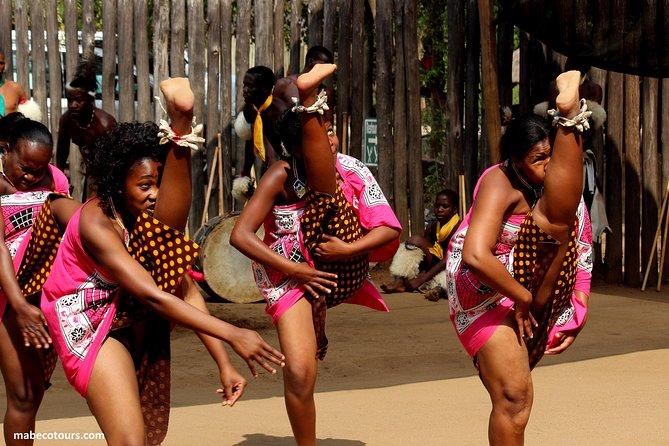 Swaziland - traditional Swazi dance