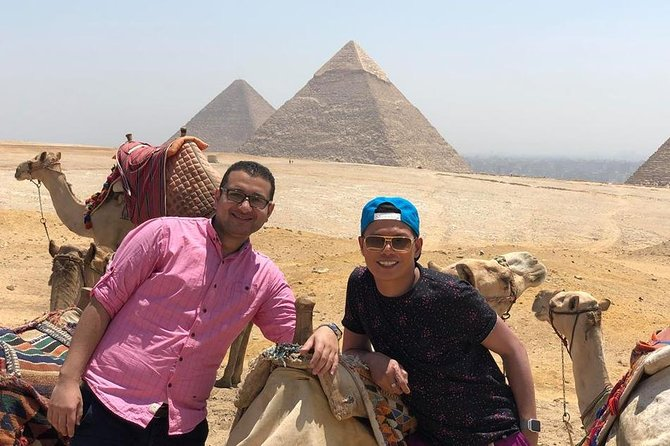 Private Tour Giza Pyramids, Sphinx and Egyptian Museum
