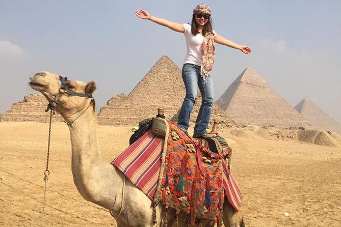 Camel or horse riding at the Pyramids from Cairo photo 9