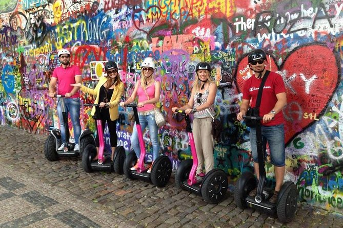 Prague All Inclusive Segway & eScooter Tour + Lunch