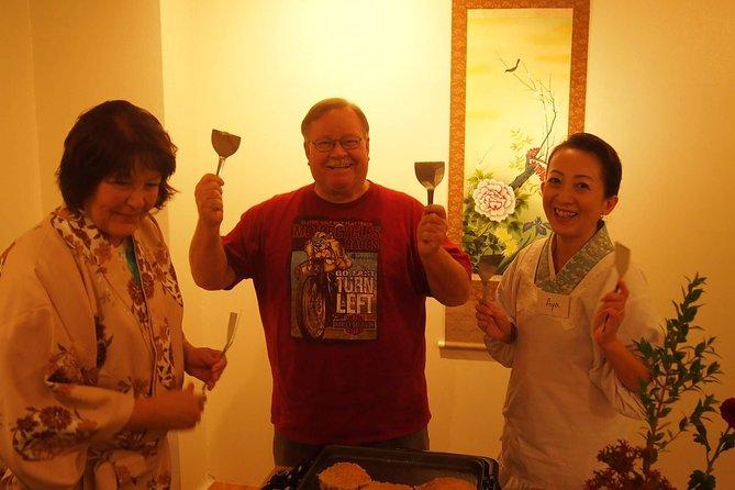 OKonomiyaki Cooking Class in Kyoto