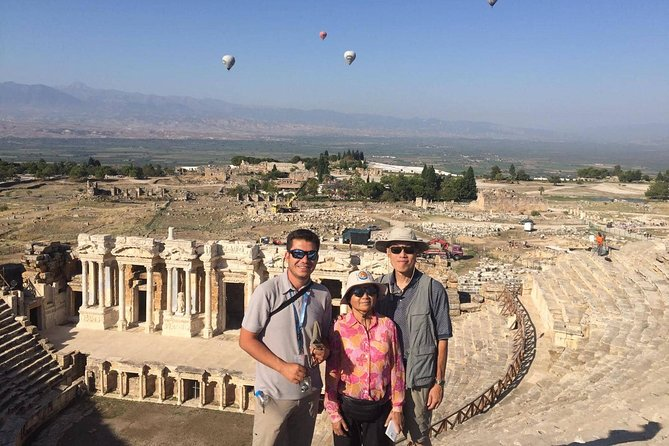 Day Tour to Pamukkale from-to Izmir