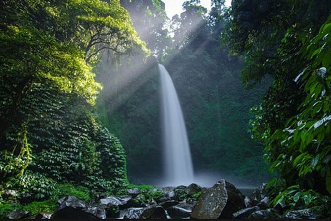 Private Full Day Trip-Nungnung Waterfall-Twin Lake-Bedugul-Jatiluwih-Unesco Site